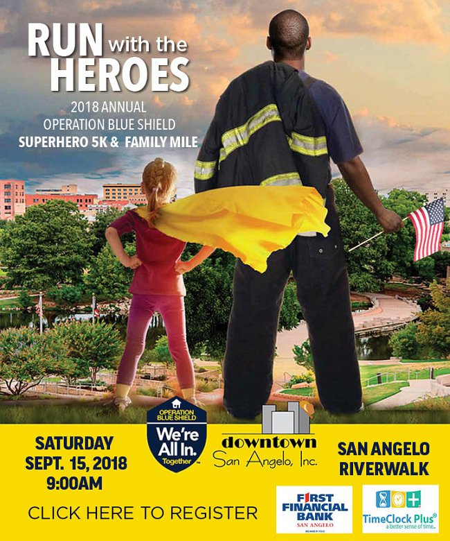 San Angelo Run with the Heroes