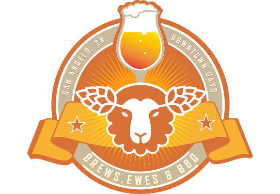 Brews Ewes & BBQ Logo